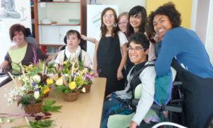 Atelier floral – IME ROMAGNAT – Juillet 2014