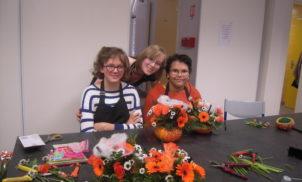 Atelier floral – IME MOZAC – 2014