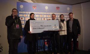 Match Clermont Foot 63 / Metz – Remise de chèque – Mars 2016