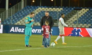 Match Clermont Foot 63 / Valencienne – Février 2015