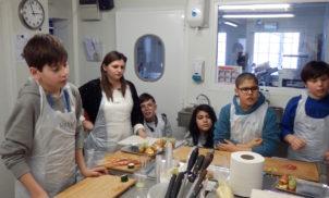 Atelier culinaire – ULIS R. Quilliot – Février 2015