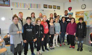 Rencontre Clermont Foot 63 / Collège ULIS Ceyrat – Mars 2017