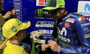 Rencontre avec Valentino Rossi pour Ronan – Mai 2018