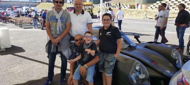Charade Heroes avec le jeune Ronan, son frère et son papa