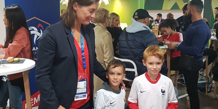 Match France Australie et rencontre avec l'équipe de France féminine de Football