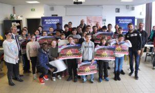 Rencontre Clermont Foot 63 / Collège ULIS Saint-Joseph – Avril 2018